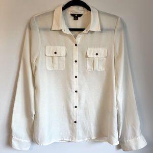Cream Dress Shirt